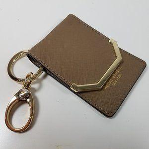 HENRI BENDEL card keyfob coin mini key wallet case